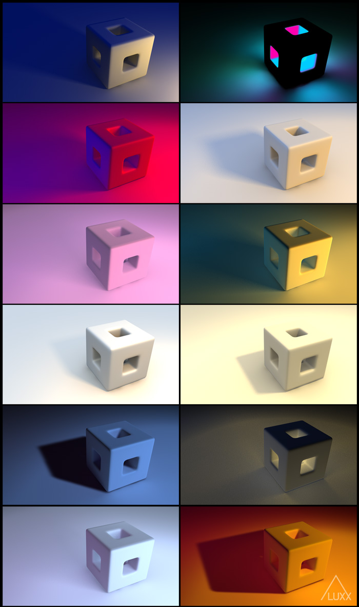 Lighting Presets for Cinema 4D