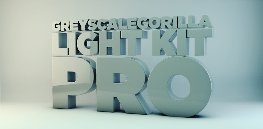 Greyscale Gorilla HDRI Light Kit Pro - 1.0