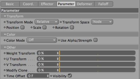 Visibility Checkbox - Cinema 4D & Mograph Tutorial - Cloner Visibility through Effectors