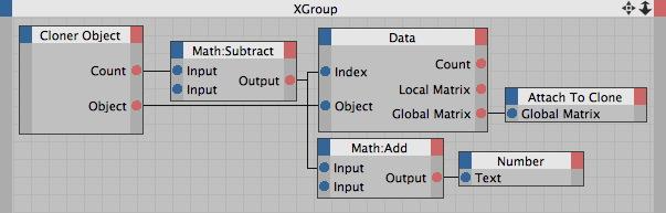 MoGraph Tutorial - Xpresso Data Node